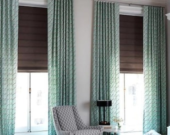 Dwell Studio Modern Lattice Drapes - Lined (Pick the fabric and size)