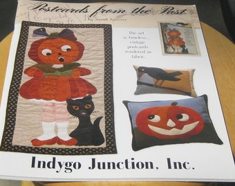 Indygo Junction - Postcards from the Past Craftbook - Sarah Sporrer