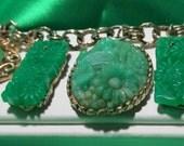 Vintage Asian Charm Bracelet