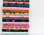 LUCKY STRIKES fat quarter bundle--18 pieces---4-1/2 yards total---Kimberly Kight for Cotton and Steel