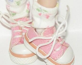 Little Shabby Chic Short Socks For Blythe...One Pair Per Listing...