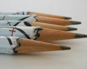 Baseball Hand wrapped pencils