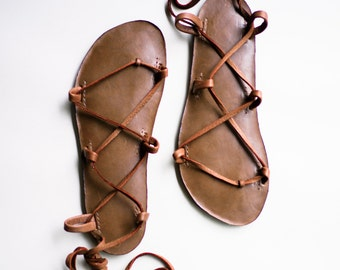 CHOCOLATE Sandals  Tahiti Style  Your choice of color