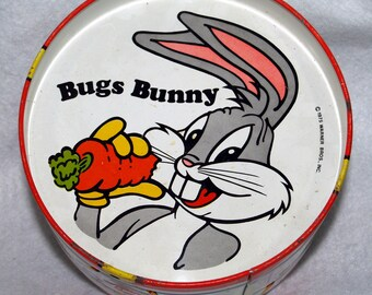 Looney Tunes: Bugs Bunny Toy Drum Warner Bros. 1975