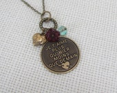 "I love you more than Yesterday, less than Tomorrow Necklace French Je""taime"