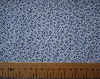 "Liberty Tana Lawn ""MICHAEL"" blue 20 x 20cm (8 x 8"")"