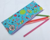 Pencil case in sweetie print
