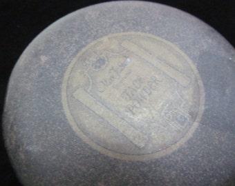 Antique Max Factor Face Powder Tin