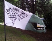 NEW Silk Screened Game Of Thrones Banner Flag custom listing Size Small