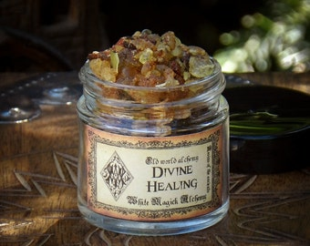 HEALING Resins of the Ancients . Old World Alchemy