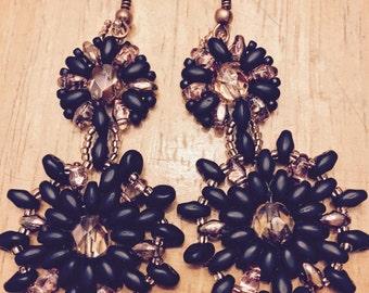 Handcrafted Seed Bead Earrings