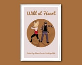 Movie poster Wild at Heart retro print in various sizes