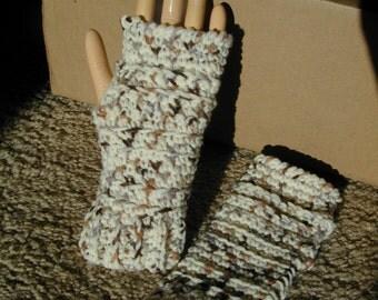 Fingerless Gloves Wrist Warmers Wristers Size Small/Medium