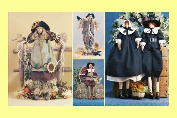 Cloth Doll E-Pattern Special Thanksgiving ePattern Collection