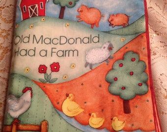Old McDonald Fabric book