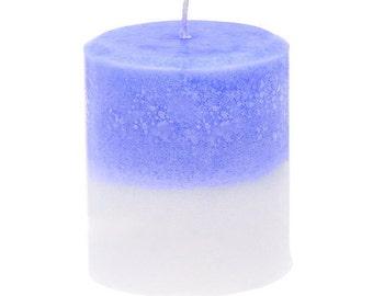 Lavender Magnolia Scented Pillar Candle