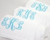 Personalized Spa Wrap Bridesmaids Monogrammed Gift