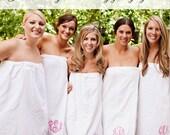 Monogrammed Spa Wrap Bridesmaids Gift Monogrammed Towel Wrap