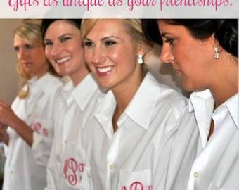 Oversized Bridesmaid Shirts, Bridesmaid Gifts
