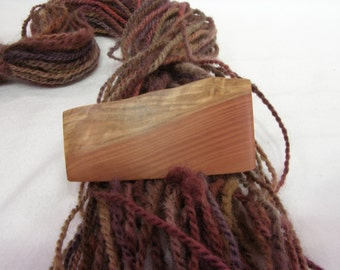 Tiny Wood Hair Clip, California Redwood, lifetime guarantee, NO GLUE, wood hair accessory, french hair barrette, natural hair, wearable art
