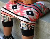 SALE 30% off! Baby Boy Baby Girl Multicolor Aztec, Ethnic, Tribal Print Harem Shorts or Pants: Etsy kid's fashion, toddler boy toddler girl