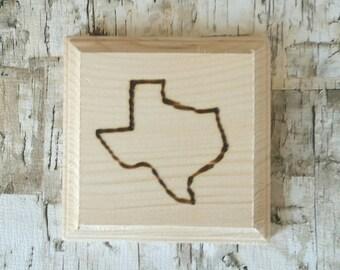 Custom State Coasters Texas