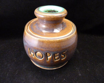 WheelWorksPottery - Theme Jar - HOPES