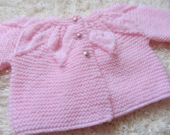 Hand Knit Baby Set