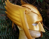 Hawkman cosplay Halloween costume leather helmet