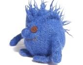 Blue Mini Hug Monster Toy mascot