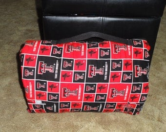 Texas Tech Blanket Etsy