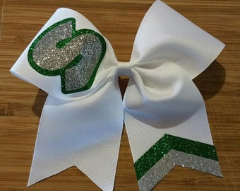You pick colors / Custom Team Glitter Cheer Bow