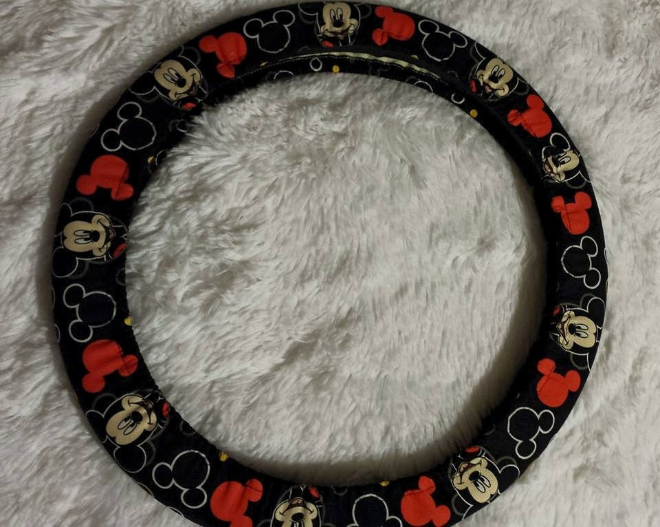 Last Two One Mickey Mouse Steering Wheel Cover