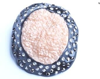 Druzy Agate Pendant, G345-3