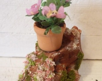 Dollhouse Potted Plant