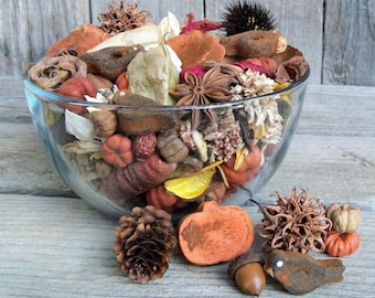 Country Pumpkin Patch Fall Potpourri, Autumn, Crows, Rustic, Farmhouse Decor, Room Scent, Seasonal, Botanicals, Refresher Oil Included
