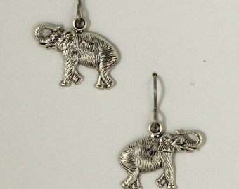 Sliver plated elephants