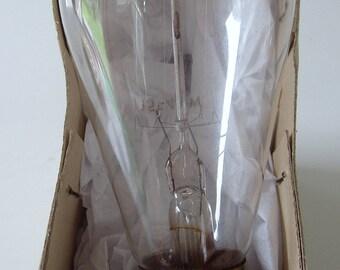 Edison Lamp Light Bulb Vintage Squirrel Cage Style Retro Filament Soft Glo 40w 115v Lighting