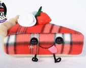 plush Slice of Sassy Pie: Plaid