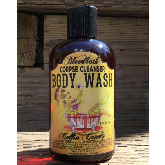 Coffin Candy Cotton Candy Vegan Body Wash Corpse Cleanser Shower Gel