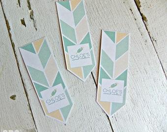 Arrow and Feather Tic Tac Labels...Set of 12 Tic Tac Labels