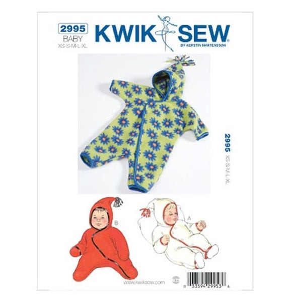 BABY BUNTING PATTERN Make Warm Outdoor Clothes Newborn to