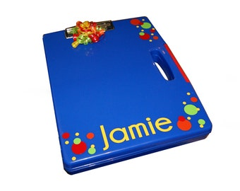 Personalized Clipboard Case - Dots