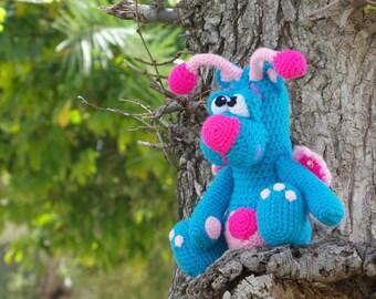 Crochet toy Amigurumi Pattern - Butterfly Bear.