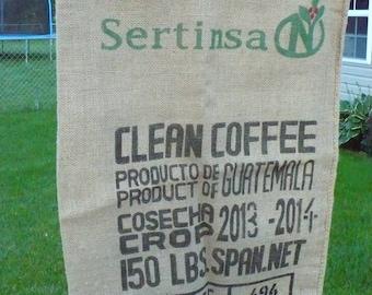 Coffee Bean Burlap Sack