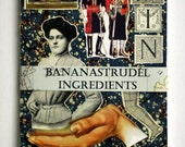 1860s to 1955 BANANASTRUDEL INGREDIENTS - 40-pc. Miscellaneous Pack. Probably the Best Collage/Ephemera Pack