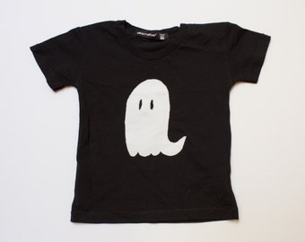 Gilbert the Bashful Ghost, baby or toddler halloween shirt, boy or girl ghost top, graphic tee, halloween, modern baby clothes, ghost, fall