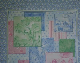 La Petite Toile Panel by Dono Mollo for General Fabrics