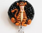 Winne The Pooh's Tigger ID Badge Reel - Retractable ID Badge Holder - Zipperedheart