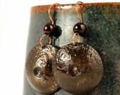 Ethnic Jewelry, Ethnic Earrings, Hammered, Earrings, Gift